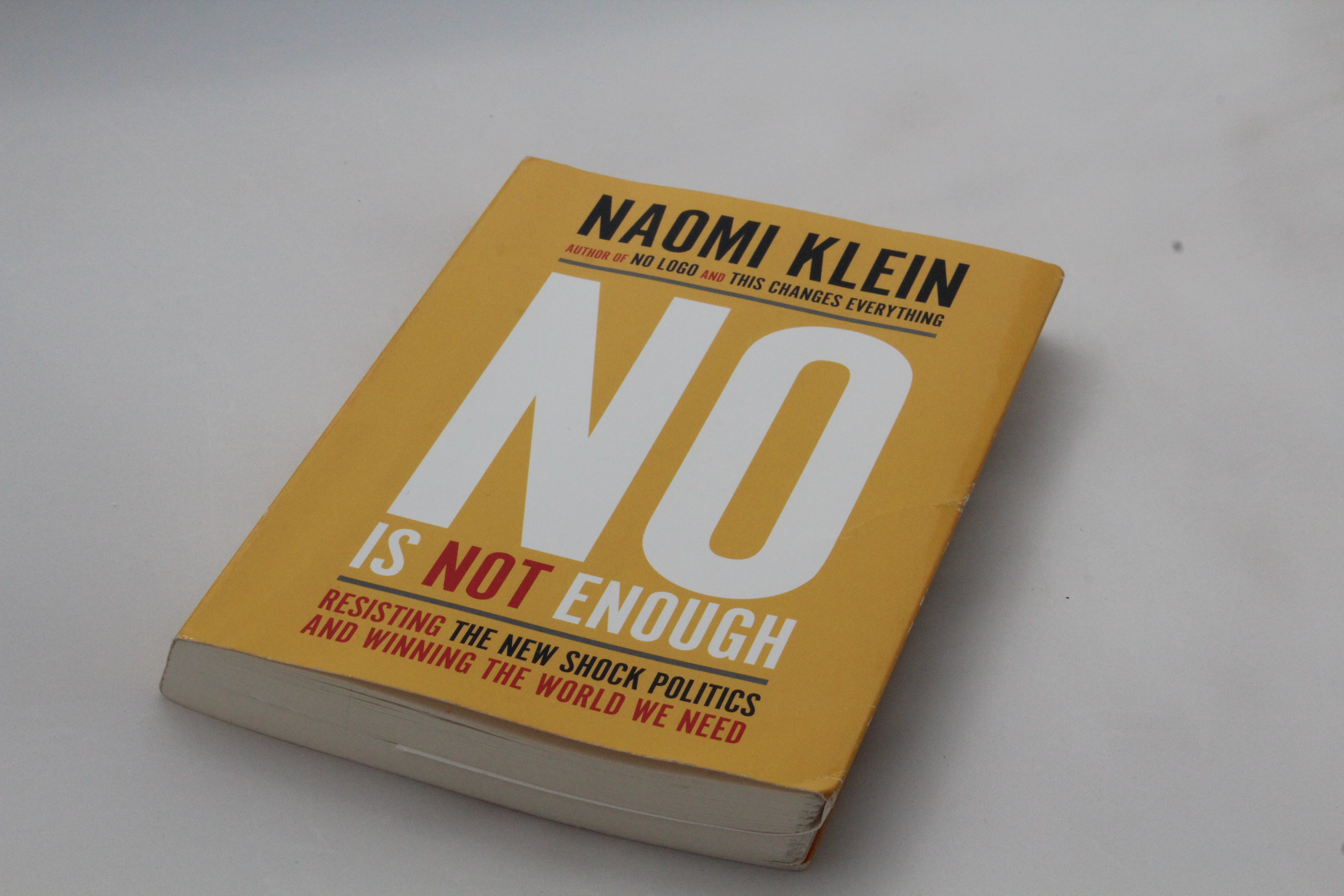 Naomi Klein's New Book